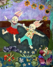 Dancing Bunnies © Marit Menzin
