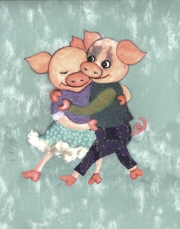 Dancing Pigs © Marit Menzin